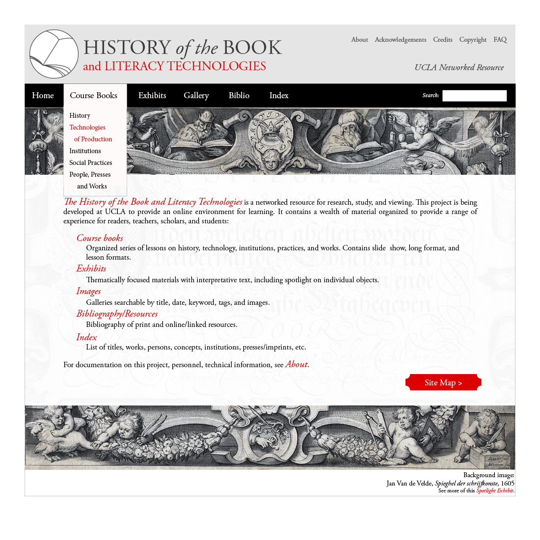 History of the Book (Page Mockup)