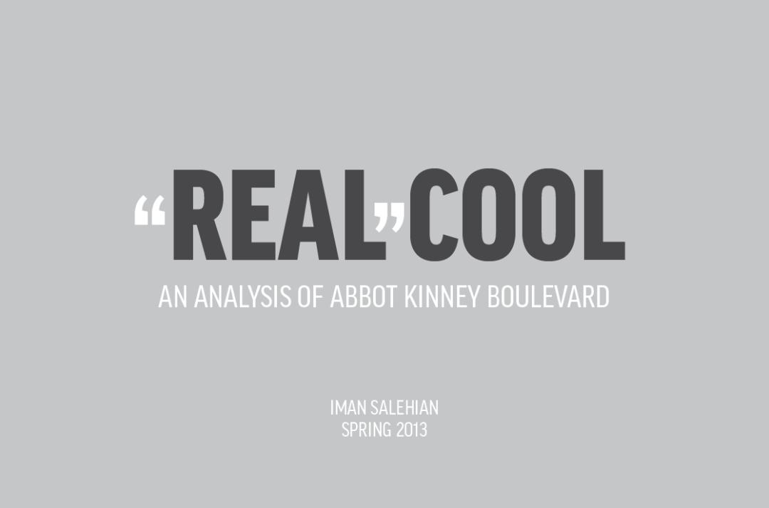 Abbot Kinney Guide Book