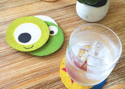 Minimalist Pixar Coasters
