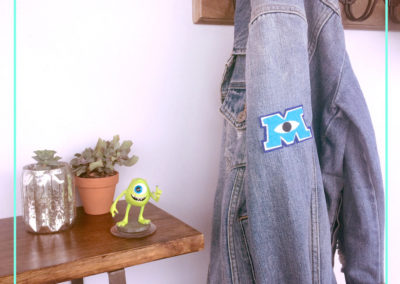 Monsters University Letterman's Patch
